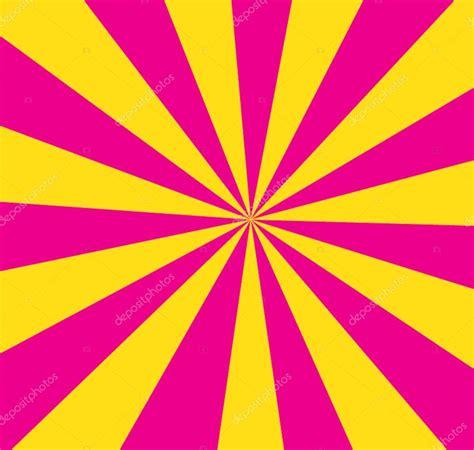 Vetor de fundo listrado rosa e amarelo Vetores de Stock