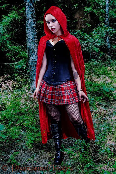 arianna dress chapeuzinho vermelho mundo cosplayer