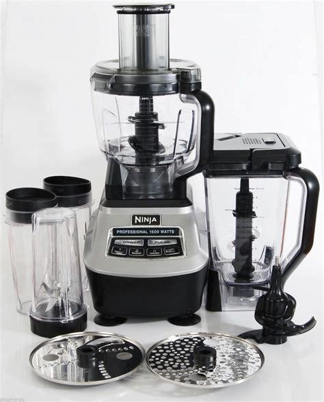 ninja mega blco kitchen system  watt food processor
