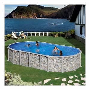 Sable Piscine Hors Sol : piscine hors sol santorini gre 730x375 h132 cm filtre sable ~ Farleysfitness.com Idées de Décoration