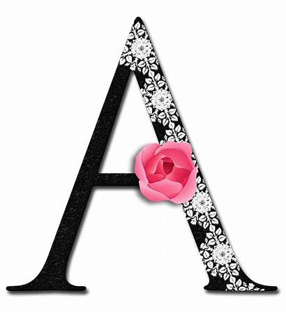 Girly Alphabet Clipart Letters Letter Lady Glamorous