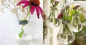 Diy Deco Recup : diy d co fabriquer un vase avec une ampoule de r cup ~ Dallasstarsshop.com Idées de Décoration
