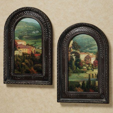 italian overlook framed wall art set tuscan decorating