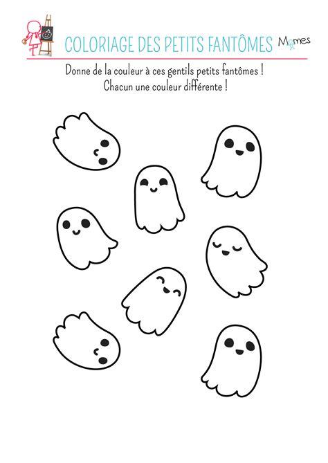 dessin de fantome a imprimer coloriage fant 244 me momes net