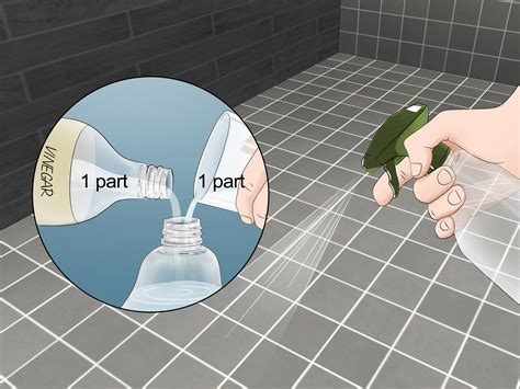 ways  clean mold  grout wikihow