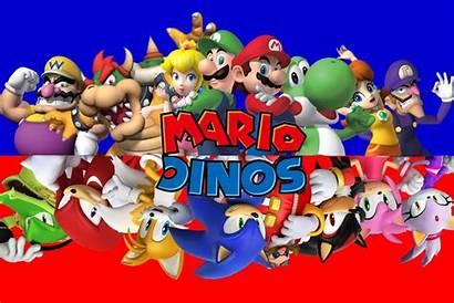 Mario Sonic Super Bros Luigi Tails Sega