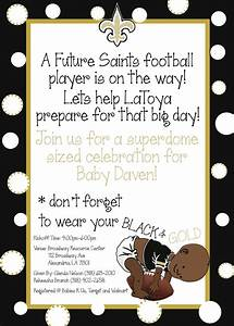Items similar to New Orleans Saints Baby Boy Baby Shower