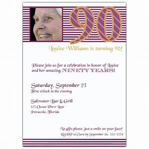 invitation templates 90th birthday http webdesign14com With 90th birthday invites templates