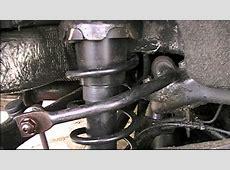 BMW Mini knocking from the rear suspension ARB bush
