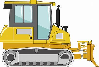 Clipart Construction Excavator Machine Equipment Transparent Heavy