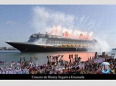 Crucero de Disney llegará a Ensenada