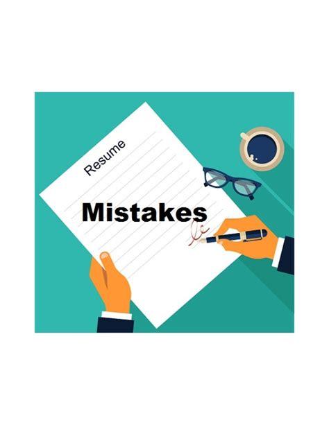 18999 common resume mistakes resume क ट प 5 common mistakes