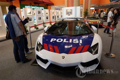 mobil patroli polisi lamborghini foto
