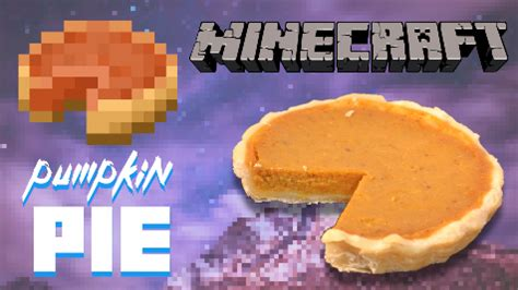 These pies are tiny, so they fit in your pocket. TOMORROW. I premier the Minecraft Pumpkin Pie... | jammy cooks