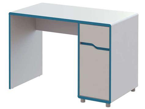 bureau pas cher conforama bureau moby coloris blanc et bleu vente de bureau