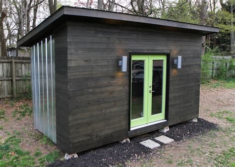 Backyard Studio Tiny House Plans