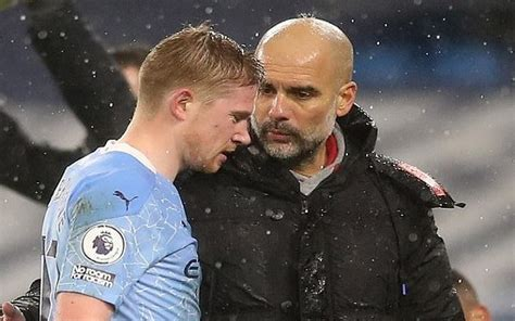 Man City's De Bruyne out for up to six weeks | The Nation