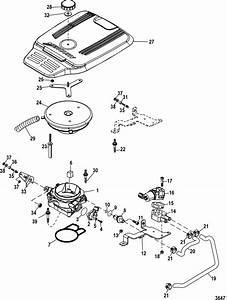 Throttle Body For Mercruiser 4 3l Mpi Alpha  Bravo