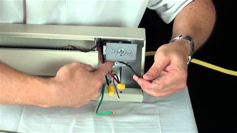 how to install a baseboard heater thermostat boca raton chimney repair