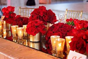 Wedding Inspirations: Red, Magenta, and Gold Wedding