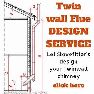 Installing Twin Wall Flue Chimney For A Wood Burner