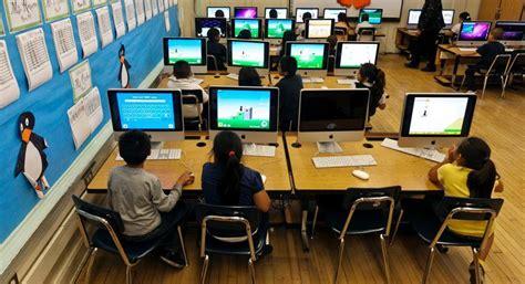 report poor students tech hurdles politico
