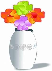 Flowers In Vase 2 Clip Art at Clker.com - vector clip art ...