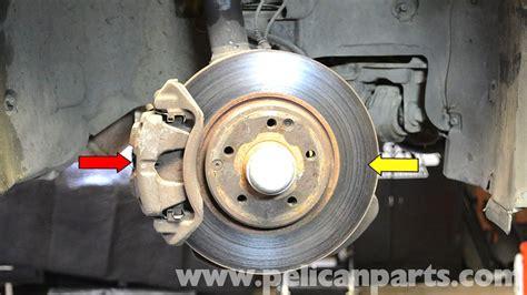 Mercedes-benz W203 Front Brake Caliper Replacement