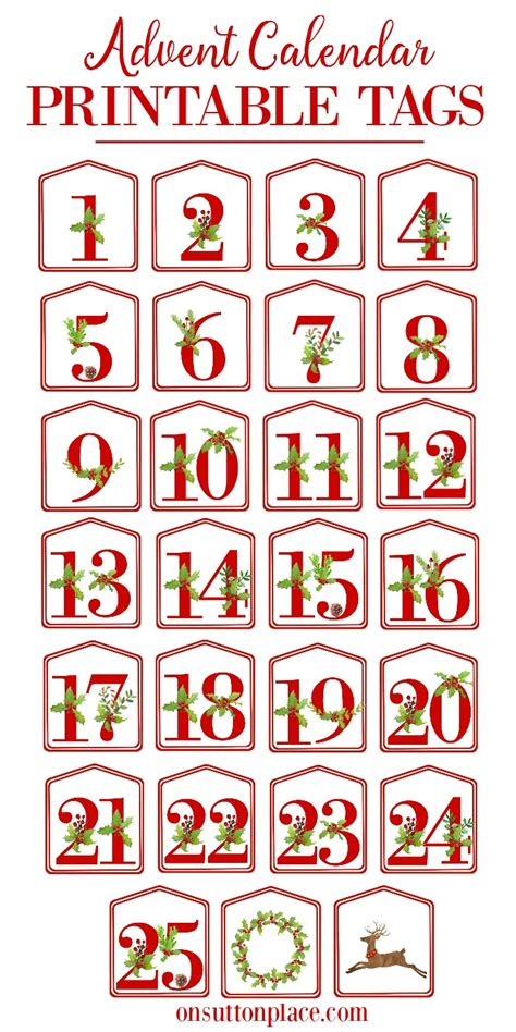 christmas alphabet printables  sutton place