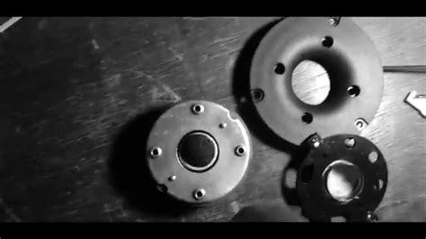 blown dome tweeter jamo  voice coil replacement diy