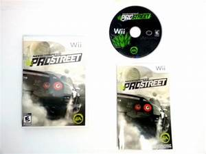 Need For Speed Wii : need for speed prostreet game for wii complete the ~ Jslefanu.com Haus und Dekorationen