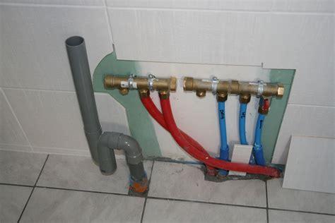 arrivee d eau salle de bain passer un per au travers d une dalle 7 messages