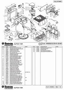 Saeco Incanto Rondo Parts Diagram Service Manual Download  Schematics  Eeprom  Repair Info For