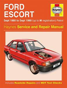 Haynes Manual Ford Escort Petrol  Sept 1980
