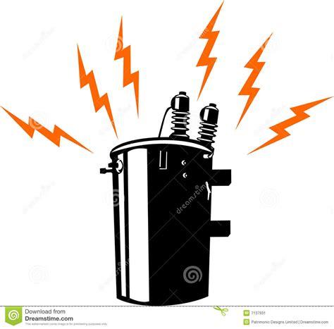 electric power transformer stock image image