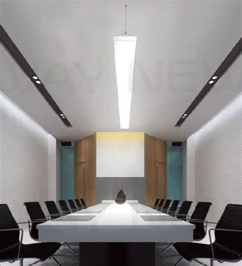 office chandelier lighting suspended 1m 54w linear panel led pendant light indoor