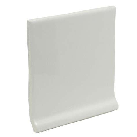 cove base ceramic tile u s ceramic tile color collection bright snow white 4 1 4 in x 4 1 4 in ceramic stackable