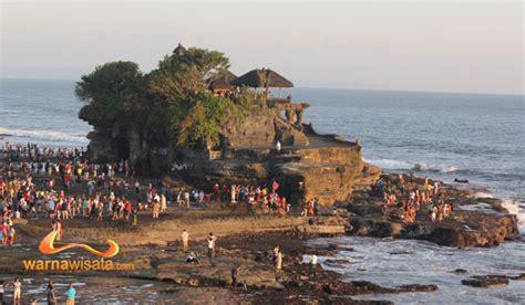tempat wisata pura tanah lot bali warnawisatacom