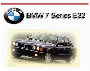 Bmw 7 Series E32 1988-1994 Service Repair Manual