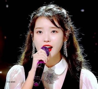 Iu Singer Talks Velvet Ponytail Half Kpop