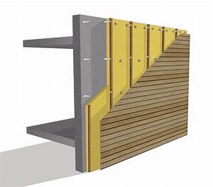 Isolation Mur Exterieur Bardage : entreprise d 39 isolation de fa ade bardage situ trois ~ Premium-room.com Idées de Décoration