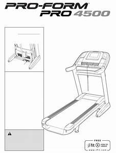 Proform Treadmill Pftl16011 0 User Guide