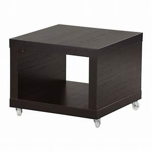 Ikea Tisch Mit Rollen : lack beistelltisch mit rollen schwarzbraun ikea ~ Michelbontemps.com Haus und Dekorationen