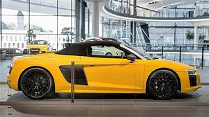 Audi R8 Spyder Yellow And Carbon Arrives At - illinois-liver
