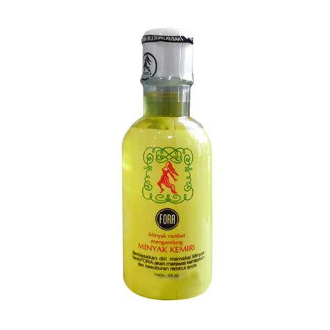 Minyak Kemiri Fora Untuk Alis fora minyak kemiri 65 ml distributor jamu herbal