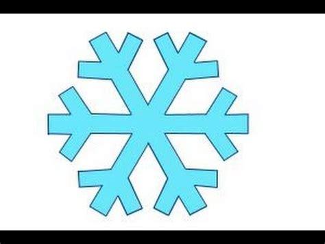 draw  simple snowflake youtube