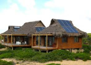 Top Photos Ideas For Solar Home Plans by Awe Inspiring Thatched Mozambique Home Is Draped In Solar