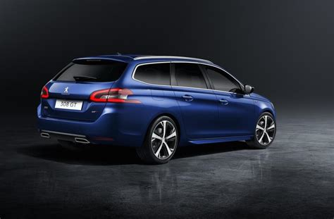 Peugeot 308 Wagon by 2018 Peugeot 308 Revealed Tweaked Design More Tech