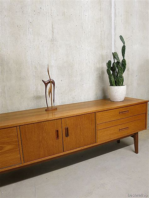 sekretär mid century low board dressoir mid century vintage design bestwelhip