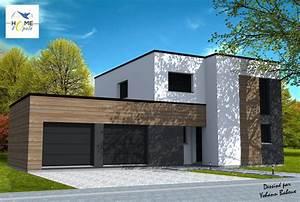 Etage Aufstocken Kosten : maison cubique maison en projet en 2019 pinterest ~ Frokenaadalensverden.com Haus und Dekorationen